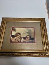 "Cherub Angels Framed Print Photo - 12.5"" x 10.5"""