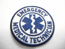 EMERGENCY MEDICAL TECHNICIAN NEW CLOTHING PATCH