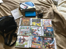 nintendo 3ds xl console and games