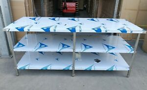 Stainless Steel 3 Level Bench 2100 (L) x 700 (W) x 900 (H) mm