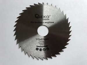 Saw Blade Angle Grinder for Wood Cutting Disc NON-TIP 115x22x40T