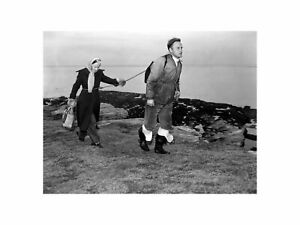 Charles and Jean Clifton Custodians of Hilbre Island in England 1954 Print