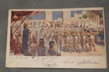 Antica Cartolina Postale Primi 900 AIDA ATTO II Lirica Viaggiata Opera