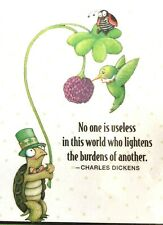 Mary Engelbreit Handmade Magnet-No One Is Useless In This World
