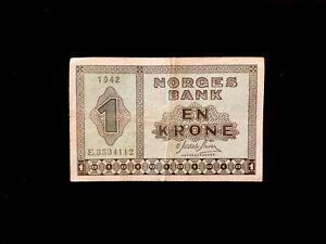 Norwegen (P015) 1 Krone 1942 VF