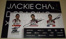 Le Mans - WEC 2017 Silverstone LMP2 Winner Jackie Chan DC Racing #38 Signed Card