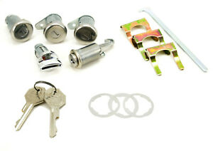NEW 1964 Bel Air, Biscayne, Impala Complete Replacement Lock Set