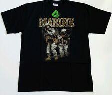 Glow in the dark Survivor brand T-shirt, color black, marine print         C17