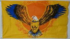 Eagle Flag (Yellow) 3x5 Feet Flag / Eagle Flag