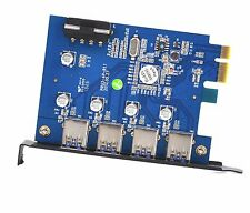 KDLINKS USB 3.0 4-Port PCI-E Express Extension Internal Card Adapter PC Desktop