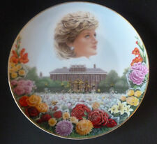 """Compton & Woodhouse Princess Diana 'A Sea of Flowers' Collectors 8"""" Plate New"""