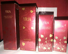lot de 3 parfums 100ml/50ml/30ml YRIA YVES ROCHER + 1 eau de toilette YRIA 75ml