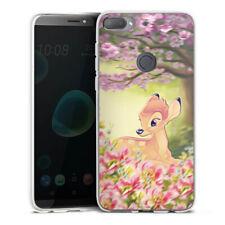 HTC Desire 12 Plus Silikon Hülle Case Handyhülle - Cute Bambi