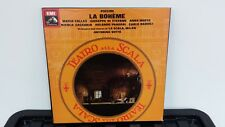 SLS 896 PUCCINI La Boheme BEECHAM/ DE LOS ANGELES/ BJORLING HMV 2LP BOX EX