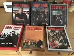 The Sopranos - Series 1-6 - Complete (DVD, 2007, 28-Disc Set, Box Set)