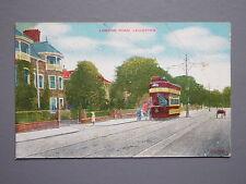 R&L Postcard: London Road Leicester, Tram