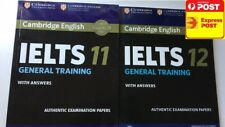 sell 100% new Cambridge IELTS books 11 and 12 General or Academic