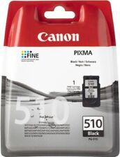 Genuine Canon PG-510 Pixma MP330 MP480 MP490 MP492 Black Ink Cartridge