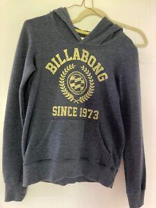 Billabong womans sweatshirt hoodie size S