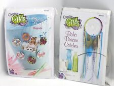 Creative Girls Club Gift Bags Diy Craft Clearly Cool Magnets & Boho Dram Catcher