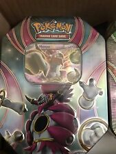 Pokemon Hoopa EX Tin Box The Best of EX Tin 2016 Booster Box Pack NEW SEALED HTF