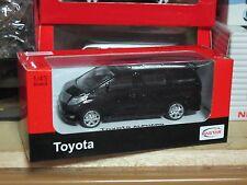 Toyota Alphard Vellfire MPV model car 1/43 rastar black free shipping