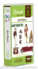 BRAND NEW Cricut ' ART DECO ' Art CARTRIDGE - For all Cricut Machines 2001321