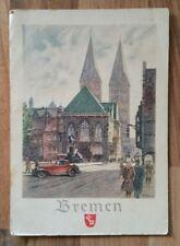AK BREMEN - Oldtimer Auto PKW / W. J. / F/0958 Deutsche Stadtbilder /ca. 1945