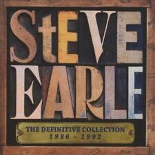 Steve Earle - The Definitive Collection 1986-1992 (NEW 2CD)