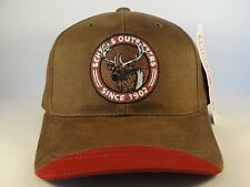 Scheels Outfitters Vintage Strapback Hat Cap American Needle