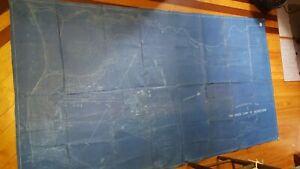 4.5 x 8.5 FEET HUGE Map Camp Townsend Military Barracks Peekskill NY 1913