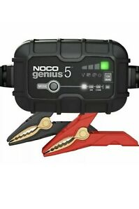 NOCO GENIUS5UK 5-Amp Fully-Automatic Smart 6V and 12V Charger and Maintainer