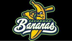 Savannah Bananas Baseball Embroidered Mens Polo Shirt XS-6XL, LT-4XLT New