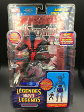 "Marvel Legends NIGHTCRAWLER RED FOIL 6"" Figure ToyBiz GALACTUS BAF ULTRA RARE"