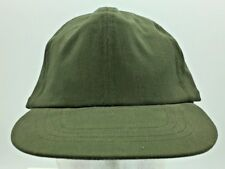 Vintage Us Army Hot Weather Cap Leather Sweatband Size 7 1/8