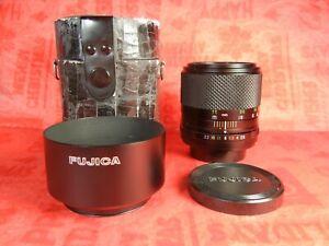 RARE Fujifilm EBC Fujinon-T 100mm F2.8 lens m42 Fuji Photo Film Co Fujica f/2.8