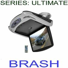 PROFESSIONAL ROOF MOUNTED 13.3 inch DVD PLAYER 3 COLORS INCLUDED!   I.RED / FM
