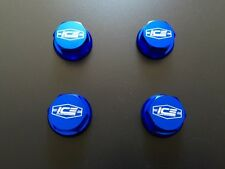 Losi 5ive T & Desert Buggy XL 1/5 Wheel Nuts Set of 4 ICE Logo Blue ICE3004