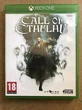 Jeu Microsoft Xbox One Pal FR Call Of Cthulhu