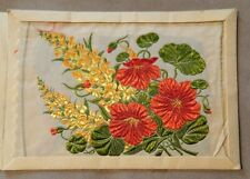 More details for kensitas flowers antirrhinum & nasturtium postcard size no 1 of 30 1934