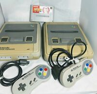 Nintendo Super Famicom 2 Console + 2 Controller + 1Game #123