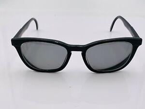 Vintage Carrera 5446 90 Black Oval Sunglasses Germany FRAMES ONLY