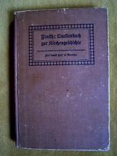 """""""Quellenbuch zur Kirchengeschichte"""" von Bernhard Finckh (1911)"""