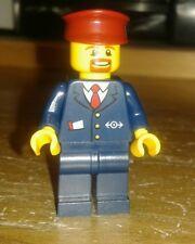 LEGO ® CITY FERROVIA RC macchinista minifig da ICE 60051 bricktrain