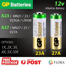 GP Batteries A23 23A A27 27A 12v Alkaline Battery 23 27 MN21 MN27 V23GA V27A.