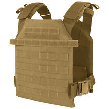 Condor Sentry Lightweight Plate Carrier Army Range Cadet MOLLE Vest Coyote Brown