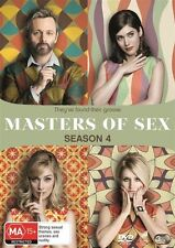 Masters Of Sex : Season 4 (DVD, 3-Disc Set) NEW