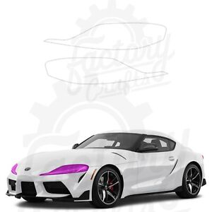 Paint Protection Film Clear PPF for Toyota GR Supra 2020 Headlights
