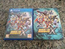Super Robot Wars X PS4 and Steelbook