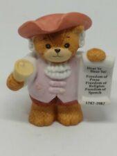 Vintage Lucy & Me Bear-Enesco-1986 Town Crier - L115